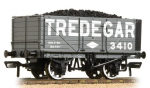 37-091 Bachmann Branchline 7 Plank End Door Wagon 'Tredegar' with Load